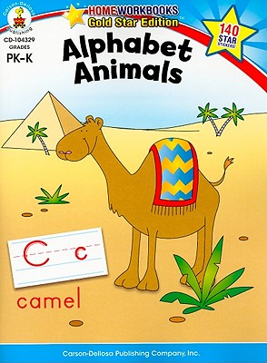 Alphabet Animals By Carson-dellosa Publishing (COR)